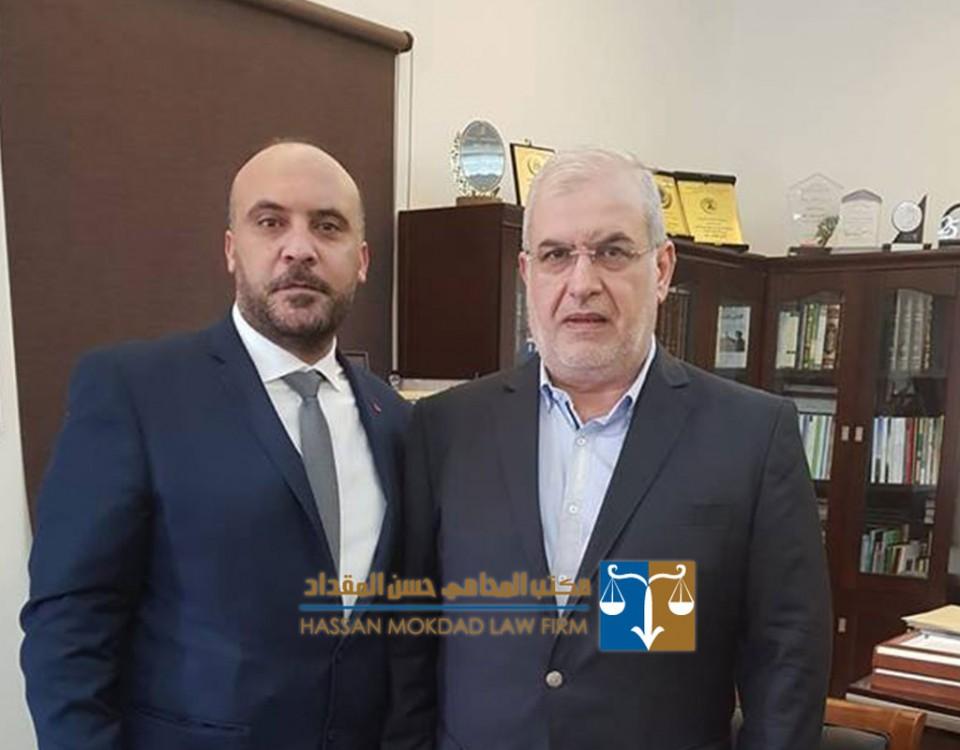 صاحب الأيادي البيضاء . رئيس كتلة الوفاء للمقاومة . الوقور والرزين سعادة النائب الحاج محمد رعد .